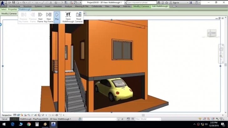 Astonishing Duplex House Plan In 20X30 Site With Car Parking And 2 Master 15 * 45 House Plan 3D Photo