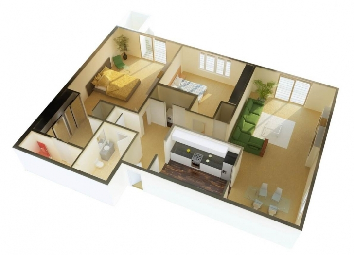 Astonishing House Plan And Design For 3 Bedroomed House 3 Bedroom House Plans Small 3 Bedroom House Plans South Africa Picture