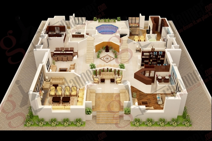 Astonishing Luxury House Plans In India Fresh Home Plan House Design House Plan 4 Bedroom House Plans Indian Style 3D Pic