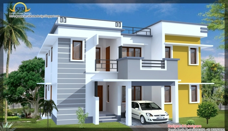 Astonishing Modern Contemporary House Elevation - Building Plans Online   #88428 Front Elevation Designs For Single Storey Terrace House Picture