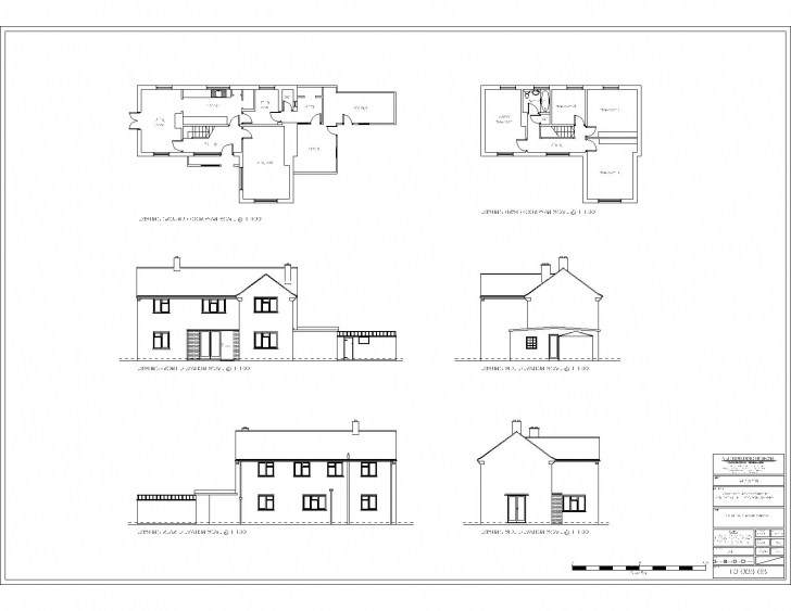 Astonishing Modern House Floor Plan With Elevation Awesome Glamorous Simple Simple Model Plan And Elevation Section Image