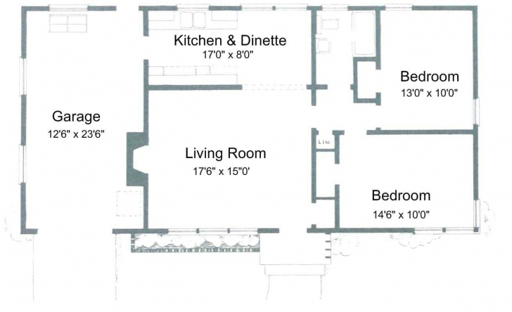 Astonishing Plain Simple House Plans Trends With Outstanding 2 Bedroom Ranch Simple House Plans Picture