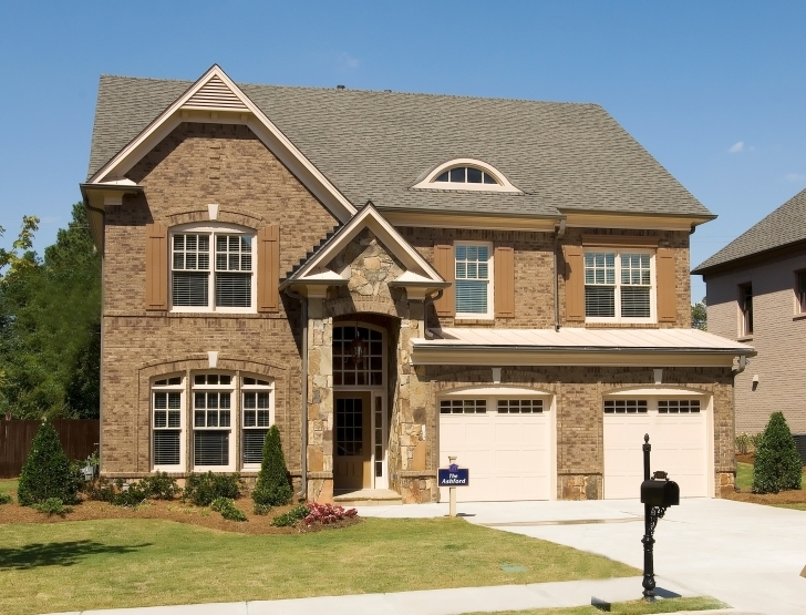 Astonishing Simple Brick House Plans With Front Porch And Wooden Door | Nytexas Brick House Plans With Porches Picture
