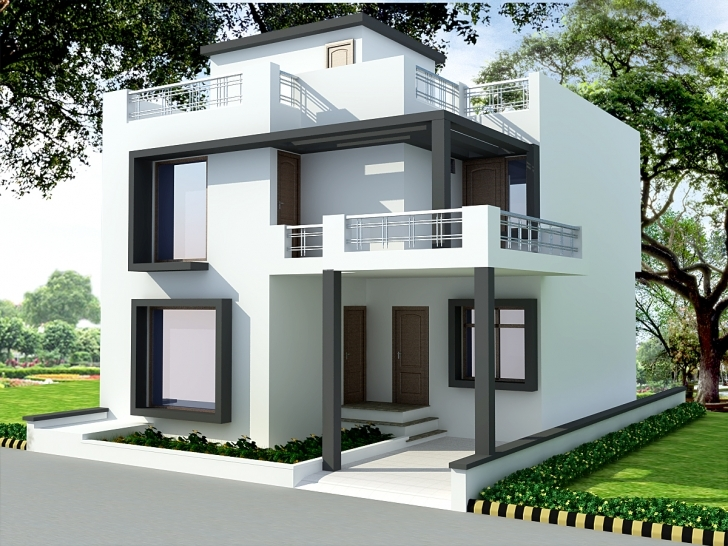 Astonishing South Indian House Front Elevation Designs — House Style And Plans Indian House Front Elevation Designs Pic