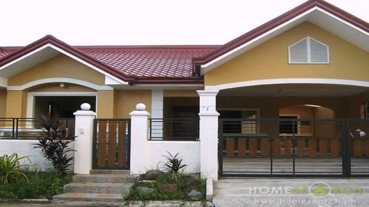 Awesome 3 Bedroom Bungalow House Design Philippines - Youtube House Plans For Sale Philippines Photo