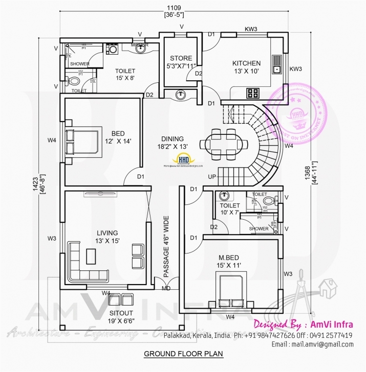 Awesome 5 Bedroom Floor Plans Free Brilliant Modern 5 Bedroom House Designs Modern Floor Plan And Elevation Image