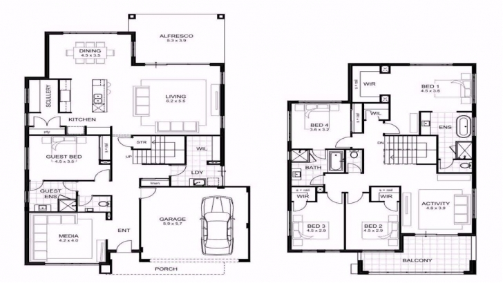 Awesome Astounding 4 Bedroom House Plans In Limpopo - Great Home Ideas Limpopo 4Bedroom House Plan Picture
