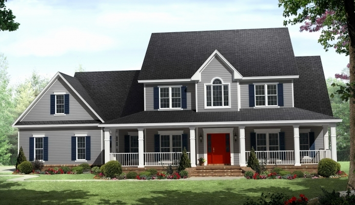 Awesome Bungalow House Plans With Wrap Around Porch New Art & Crafts House 4 Bedroom Wrap Around Porch Bungalow Photo