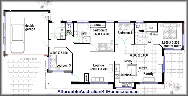 Awesome Four Bedroom House Plans Luxury With Picture Of Four Bedroom Simple Four Bedroom House Plans Picture