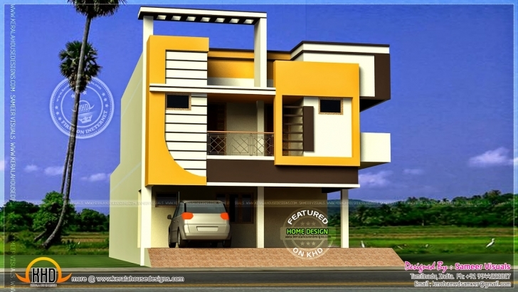 Awesome Indian Style Small House Front Elevation | The Base Wallpaper 25 Feet Front Design Pic