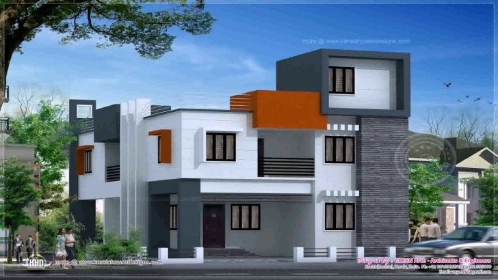 Awesome Modern House Design Flat Roof - Youtube Pictures Of Flat Roofed Houses Photo