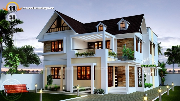 Awesome New House Plans For April 2015 - Youtube 2017 Veedu House Models Pic