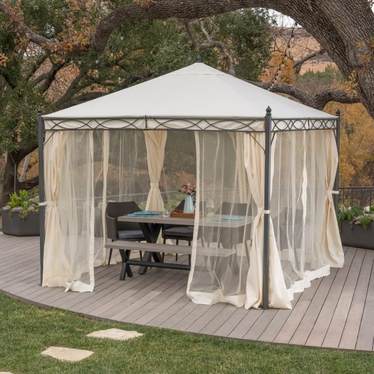 Awesome Sicilia Outdoor Steel Gazebo By Christopher Knight Home - Free Steel Gazebo Against House Pic