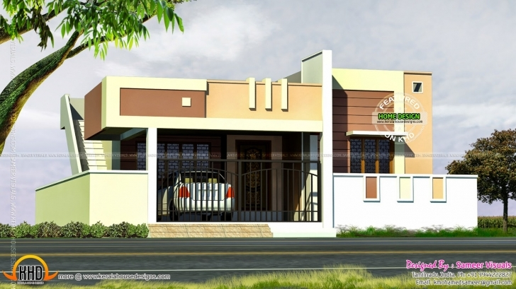 Awesome Small Tamilnadu Style House - Kerala Home Design And Floor Plans Tamil Nadu Small House Images Photo