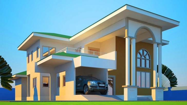 Awesome Uncategorized : Modern House Plan In Ghana Unbelievable With Elegant Ghana House Plan Picture Pic