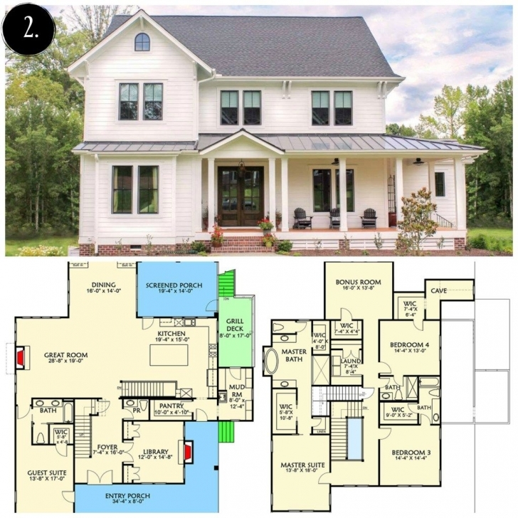Best 10 Modern Farmhouse Floor Plans I Love - Rooms For Rent Blog   Floor Modern Farmhouse Floor Plans With Pictures Pic
