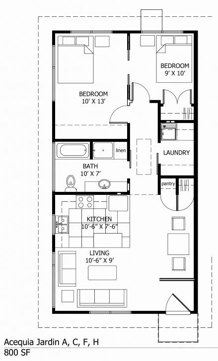 Best 1000 Sf House Plans New Small House Plans Under 1000 Sq Ft - Hous 1000 Sq Ft Image