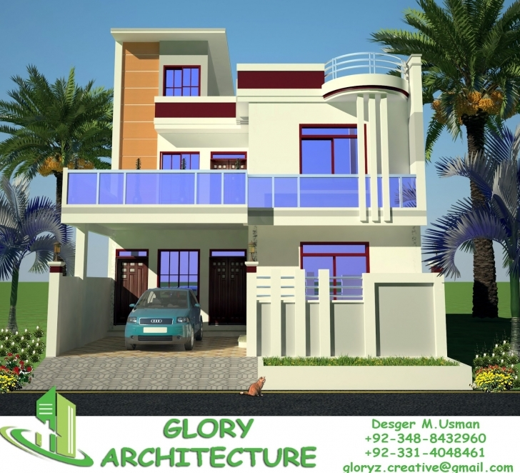 Best 30X60 House Plan,elevation,3D View, Drawings, Pakistan House Plan 20 X 60 House Front Elevation Image
