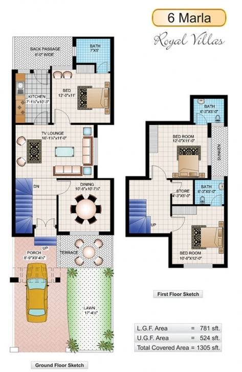 Best 6 Marla House Plans - Civil Engineers Pk 6 Marla House Design Pictures In India Picture