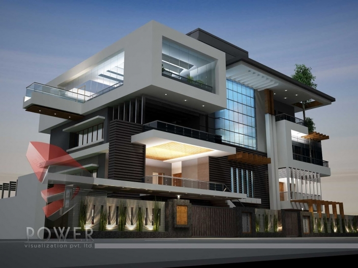 Best Building A Contemporary Home - Homes Floor Plans Modern Architecture House Buildings Image