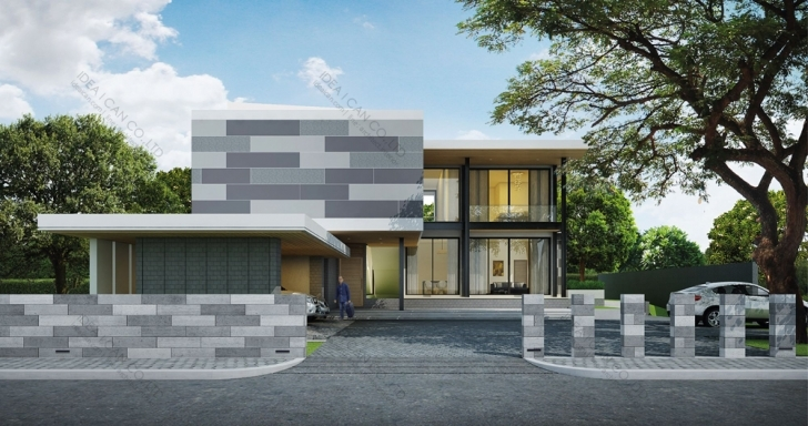 Best Cgarchitect - Professional 3D Architectural Visualization User Modern House In Thailand Pic