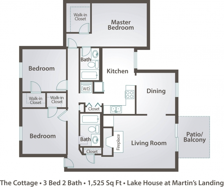 Best House Plan For 3 Bedroom Flat | Ayathebook Picture Of A Three Bedroom Flat Photo