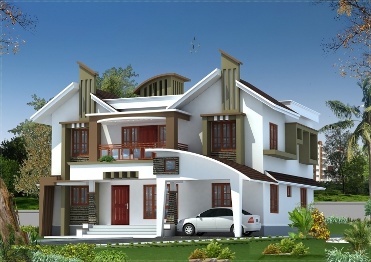 Best Kerala Home Design At 3075 Sq.ft (New Design) | Home Design New House Images Kerala Picture