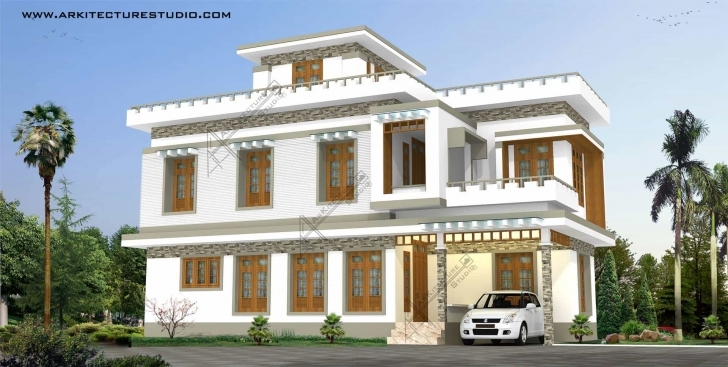 Best Kerala Home Design & House Plans | Indian & Budget Models Home 1St Slab Design In Kerala Picture