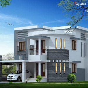 Kerala House Elevation Pictures
