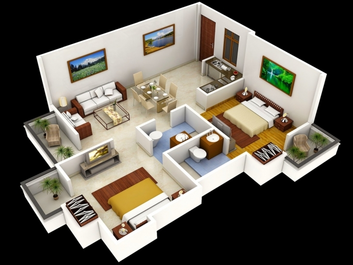 Best Nice 1000 Sq Ft House Plans 2 Bedroom Indian Style Floor — House 1000 Sq Ft House Plans Indian Style Picture