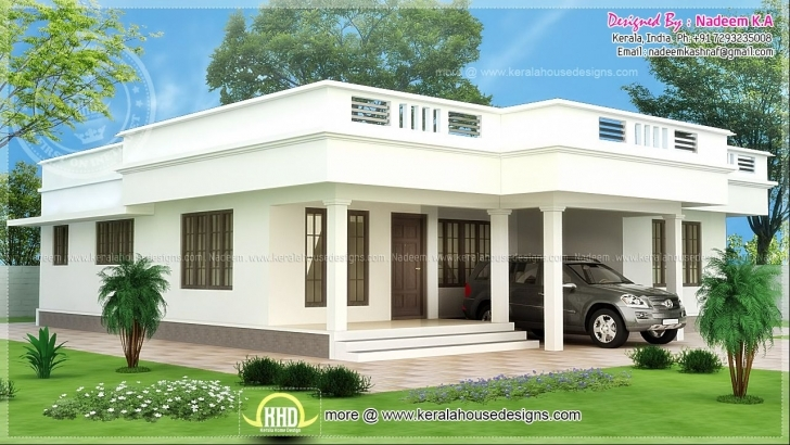 Best Simple Modern Small Home Designs Flat Roof - House Design And Simple Flat Roofed Houses Photo