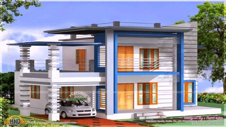 Best Small House Front Elevation Designs For Double Floor - Youtube Home Front Design Double Floor Photo