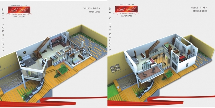 Brilliant 15 Feet By 60 House Plan Everyone Will Like | Homes In Kerala, India 15*60 Duplex House Plan 3D Picture