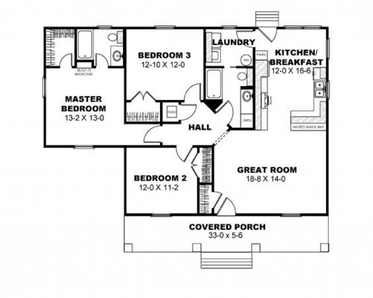 Brilliant 2 Bedroom Bungalow House Plans In The Philippines 3 Bedroom Bungalow Floor Plan Philippines Picture