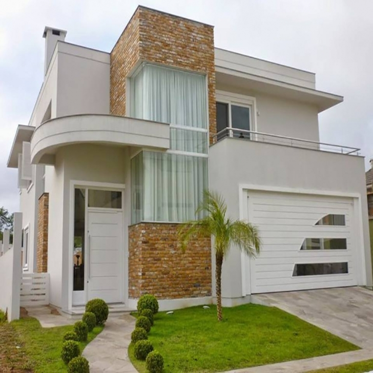 Brilliant 2 Storey Modern House Designs In The Philippines - Bahay Ofw New House Plans For 2018 Philippines Pic