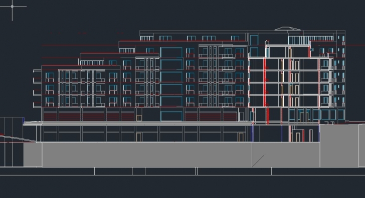 Brilliant 2D Section/elevation Are Broken In Autocad Architecture 2015 Sp2 Autocad 2D Plan And Elevation Image