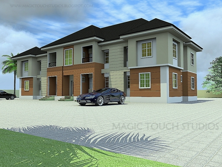 Brilliant 3 Bedroom Twin Block Of Flats - Residential Homes And Public Designs 3 Bedroom Twin Flat Image