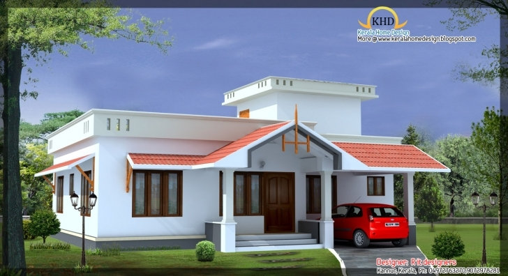 Brilliant Home Architecture: Beautiful House Elevations Kerala Home Design Single Floor House Elevation Marvelous Pic