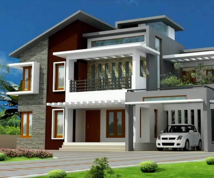 Brilliant Home Design: House Painting Design Exterior Exterior Home Painting Kerala Exterior Home Painting Photo