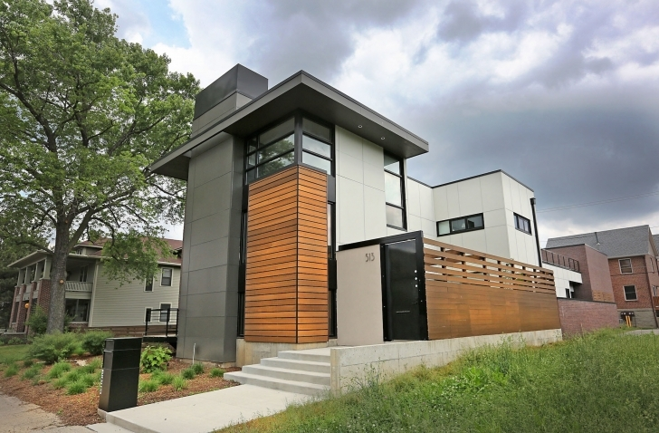 Brilliant How Much Does Flat Roof Replacement Cost? | Angie's List Modern Flat Roofed Houses Pic