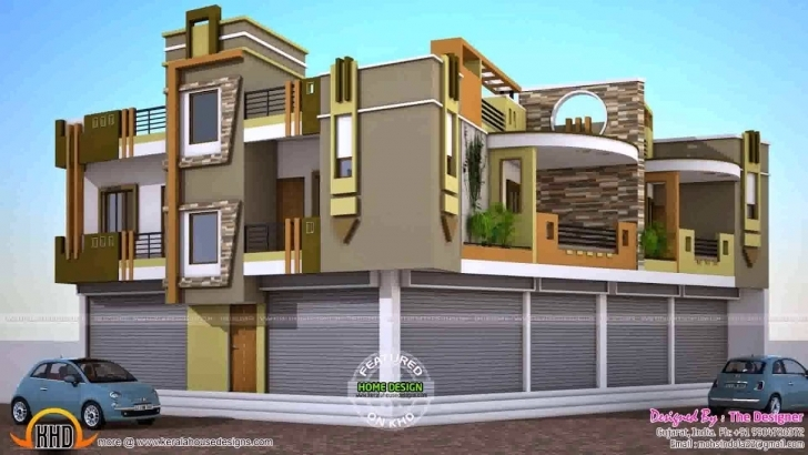 Brilliant Kerala House Designs And Floor Plans 2018 - Youtube Kerala House Elevation 2018 Picture