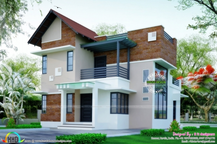 Brilliant Parapet Wall Designs - Google Search | House Elevation Cottage Image Of 3Bedroom Flat With Parapet Image