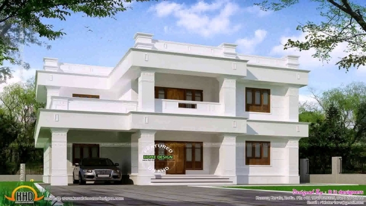 Brilliant Simple Flat Roof House Design - Youtube Simple Flat Roofed Houses Image
