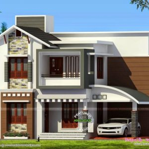 Kerala House Elevations With 3D View