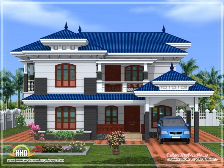 Classy Uncategorized : Home Elevation Designs In India Awesome For Stylish Home Front Stylish Image Photo