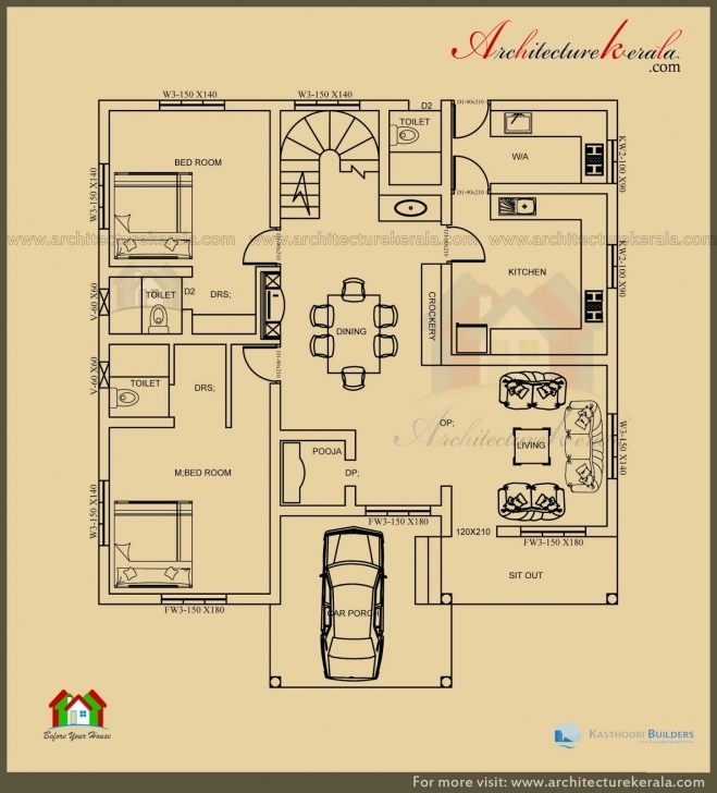 Cool 1000 Sq Ft House Plans 3 Bedroom Kerala Style Unique Small House 1000 Sq Ft House Plans 3 Bedroom Kerala Style Image