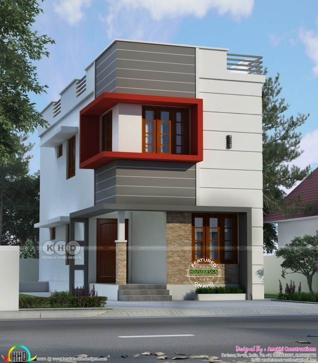 Cool 1200 Sq-Ft. Budget Home In 2 Cent Plot | Kerala Home Design | Bloglovin' Smol House 2Cent Photos Photo