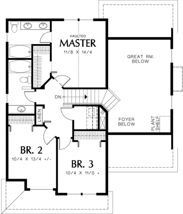 Cool 1500 Square Feet House Plans - Homes Floor Plans 1500 Sq Ft House Plans With Loft Pic