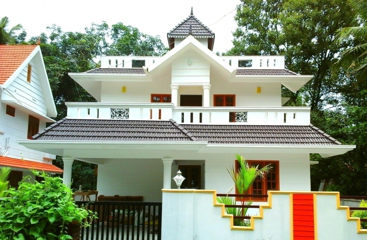 Cool 1,700 Sq Ft, Medium Budget House For Sale In Angamaly, Kochi, Kerala Budget House Plans Kerala Style Picture