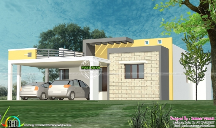 Cool 35 Small And Simple But Beautiful House With Roof Deck Insurance For Flat Roofed Houses Image